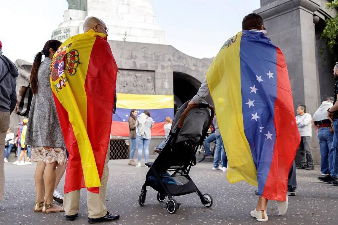 Venezolanos en España Portada 1